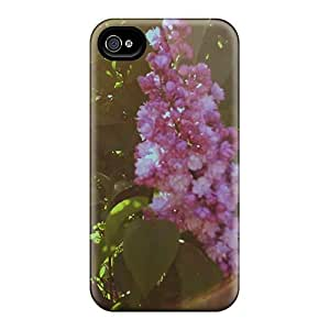 Hot Fashion Ssd671OlDv Design Case Cover For Iphone 4/4s Protective Case (lilac Light)