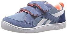 Reebok Baby Ventureflex Chase Ii Sneaker, blue slate/Buncker blue/d, 10 M US Toddler