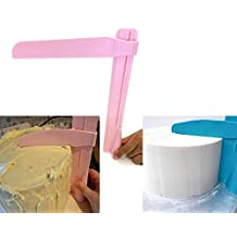 Adjustable height NEW Plastic Cake Smoother Tool Edges Scraper Fondant Cream Sugarcraft Spatula DIY Christmas Baking Wedding Birthday Cake Mold