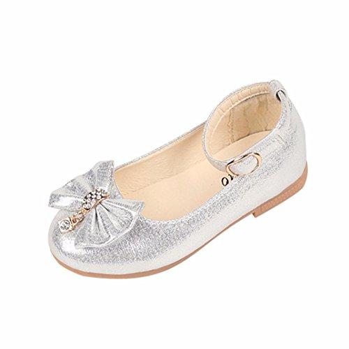 dccf3451c51aea Sunnyoyo 1-4 Jahre alt Kinder Mädchen Mode Prinzessin Soild Bowknot Dance  Kleinkind Qualität Schuhe