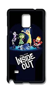 Note 4 Cases, Galaxy Note 4 Case, Customize Invader Zim Behind Disguise Hard PC Black Protective Case Cover for Samsung Galaxy Note 4