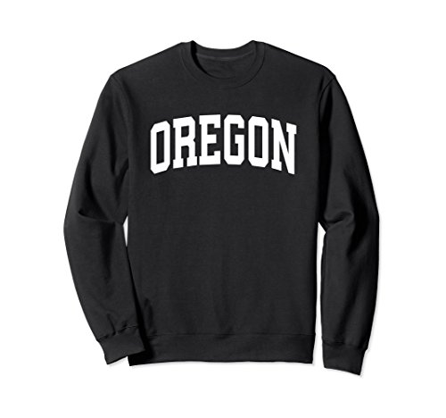 Unisex Oregon Crewneck Sweatshirt Sports College Style State Gifts XL: ()