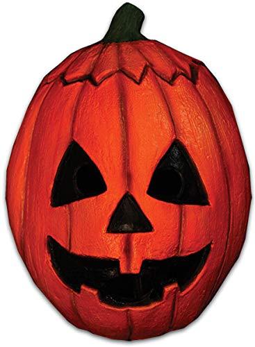 Silver Mask For Halloween (Trick or Treat Studios Men's Halloween III-Pumpkin Mask, Multi, One)