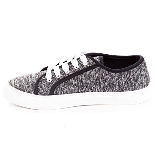 Soho Shoes Womens Lightweight Casual Tennis Fashion Sneakers H.grey HkWbVHw6