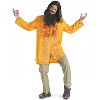 Love Guru Adult Halloween Costume Size 42-46 Standard  sc 1 st  Amazon.com & Amazon.com: Love Guru Adult Halloween Costume Size 42-46 Standard ...
