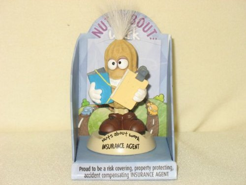 Nuts About Work 001360143 Insurance Agent Office Accessories and Decor Figurine