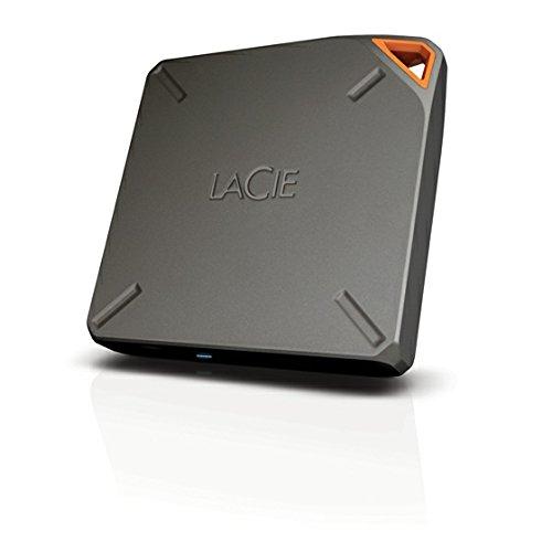 LaCie FUEL Wireless Hard Drive 2TB Wi Fi USB