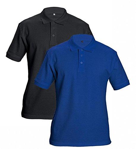 DHANU Polo-Shirt, Baumwolle 100%, 190g/m², Schwarz Gr.XXL