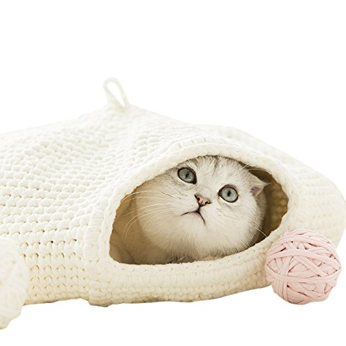 HiCat DIY Crochet Kit Thread With Hook Tool For Cat Bed Cat House Cat Hiding by HiCat