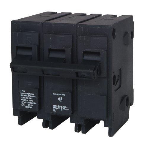 Siemens Q340H 40-Amp 3 Pole 240-Volt 22-Kaic Circuit Breaker by Siemens -HI [並行輸入品] B018A1H5I0