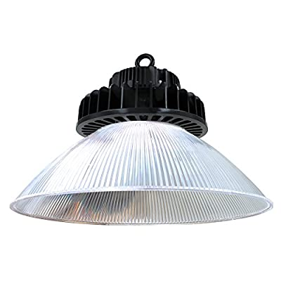 High Bay LED Hook Mount Fixture 150W, 19,600 Lumens with Reflector, 5000K