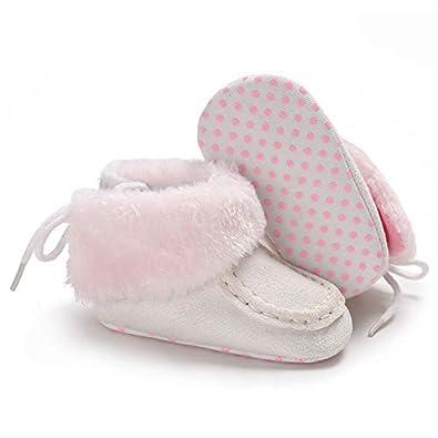 Baby Infant Boots Soft Sole Anti-Slip Winter Warm Prewalker Shoes