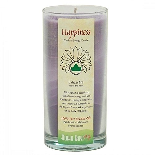 Aloha Bay Chakra Candle Jar, Happiness 285288