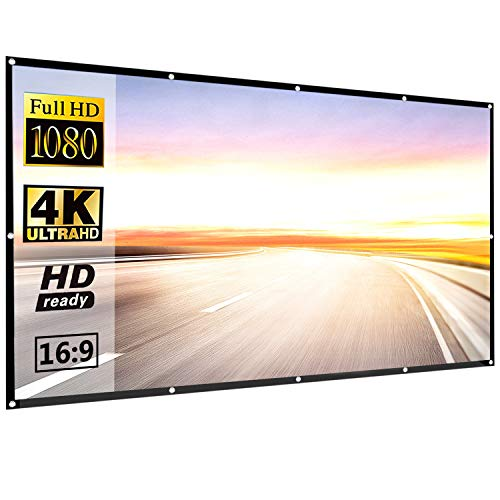 P-JING 120 Inch 16:9 HD Projector Screen