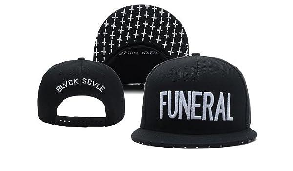 Negro Escala Funeral para hombre Originals Thrasher Gorra Gorro ...