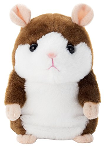 Mimicry Pet Interactive Talking Hamster Plush Toy Ver.2 (Cocoa Brown)