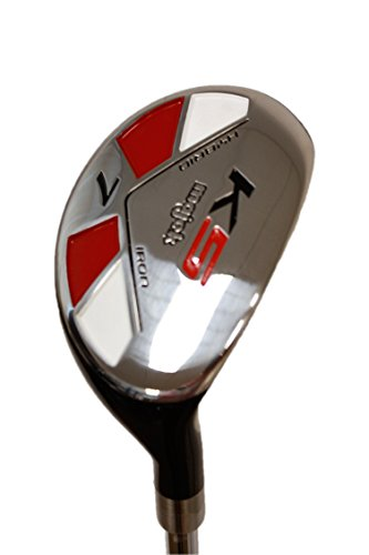 "Senior Men's Majek Golf All Hybrid Complete Full Set, which includes: #4, 5, 6, 7, 8, 9, PW +SW Senior Flex Right Handed New Rescue Utility ""A"" Flex Club by Majek (Image #8)"