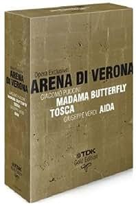 Opera Exclusive: Arena di Verona - Madama Butterfly/Tosca/Aida