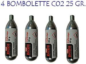 Barbieri Co2 24 Units 25 gr: Amazon.es: Deportes y aire libre