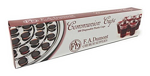- Disposable Communion Cups - Box of 100, 1-3/8