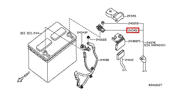 Amazon.com: Infiniti Genuine Battery Wiring Connector Terminal 24340 on ac heater diagram, circuit breaker diagram, ac motors diagram, ac heating element diagram, ac wiring circuit, ac solenoid diagram, ac assembly diagram, ac electrical circuit diagrams, ac schematic diagram, ac light wiring, ac wiring code, ac manifold diagram, ac air conditioning diagram, ac installation diagram, ac ductwork diagram, ac regulator diagram, ac refrigerant cycle diagram, ac wiring color, ac receptacles diagram, ac system wiring,