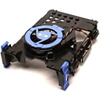 Genuine DELL Hard Drive Blower Fan Plus Hard Drive Bracket and Fan Caddy for OptiPlex 760 / 740 / 745 / 755 SFF & Dimension 5200c SFF Dell Part Numbers: NY290, TJ160, NH645, NJ793
