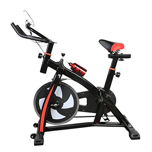 Exercise Bike With Hd Display Amp Water Bottle Portable