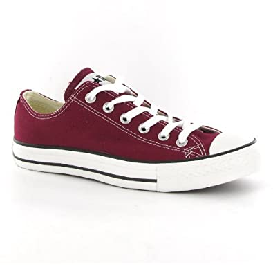 34f18aceeeb4a0 Converse All Star Ox Maroon Womens Trainers Size 7 UK  Amazon.co.uk  Shoes    Bags
