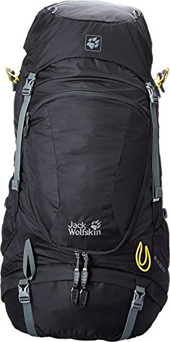 Jack Wolfskin Highland Trail XT 50 Technical Pack, Black, Small/Large
