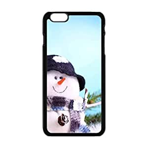 Christmas cute snow man Phone Case for Iphone 6