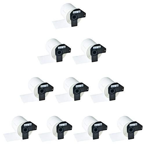 Greencycle 10 Rolls Compatible DK1241 DK-1241 Die-Cut Standard Shipping Labels 4
