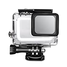 SyndeRay Waterproof Housing Protective Case Cover for Gopro Hero 5 Sport Camera-Underwater 45 Meters