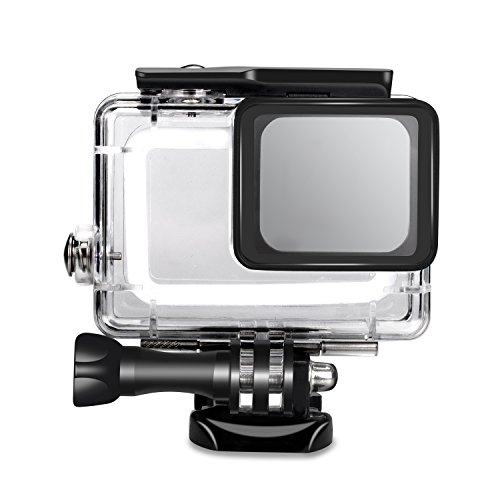 SyndeRay Waterproof Housing Case Cover for GoPro Hero(2018) 7/6/5-Underwater 45 Meters