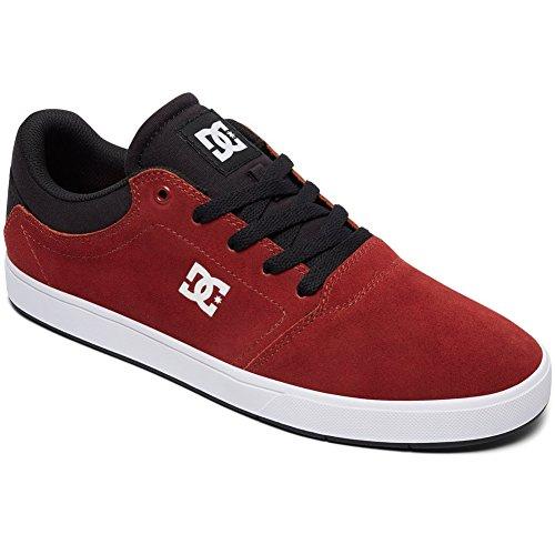 Sneaker Con Cordones Dc Crisis Para Hombre Rojo Oscuro
