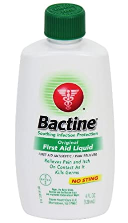 Pac-Kit by First Aid Only 2007 Bactine First Aid Antiseptic/Pain Reliever, 4 oz Bottle