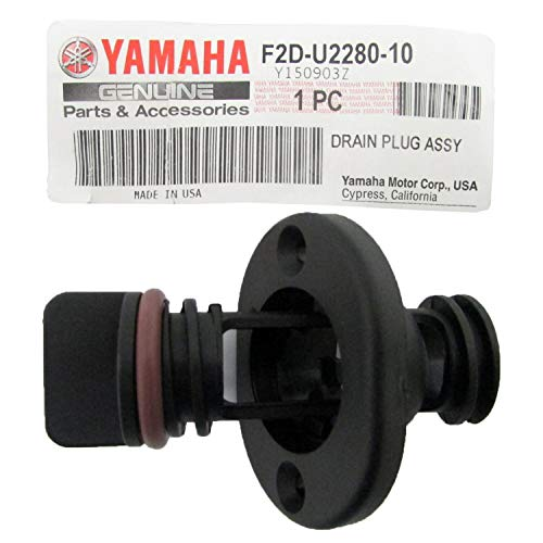 (Yamaha F2D-U2280-10-00 Drain Plug Assembly; F2DU22801000 Made by Yamaha)