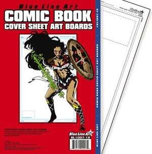 Comic Book Cover Boards