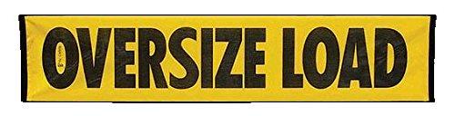Cargo Equipment Corp. Oversize Load Mesh Banner 12