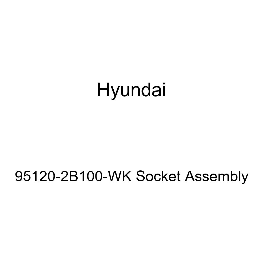 Genuine Hyundai 95120-2B100-WK Socket Assembly