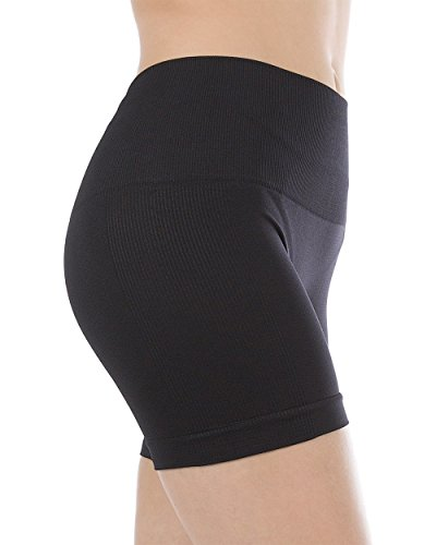 Homma Womens Seamless Compression Active Yoga Shorts Running Shorts Slim Fit