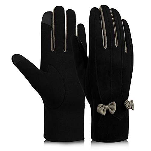 Vbiger Womens Winter Gloves Touch Screen Warm G...
