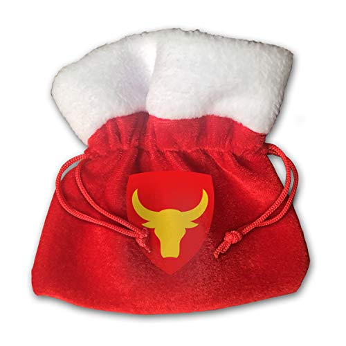 CYINO Personalized Santa Sack,Philippine 12th Infantry Division SSI Portable Christmas Drawstring Gift Bag (Red)