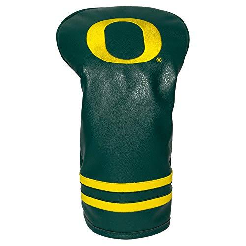 Team Golf NCAA Oregon Ducks Vintage Driver Golf Club Headcover, Form Fitting Design, Retro Design & Superb Embroidery