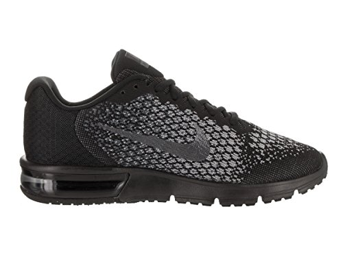 NIKE NIKE Air Max Sequent 2 - Black/Mtlc --Dark Grey