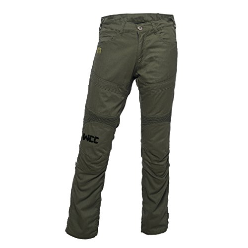 Lining M-65 (West Coast Choppers Pants M 65 Kevlar Riding Olive, Size:32/32, Color Olive Green)