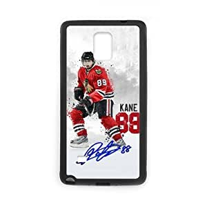 Onshop Custom KANE CHICAGO BLACKHAWKS Skiing Phone Case Laser Technology for Samsung Galaxy Note 4