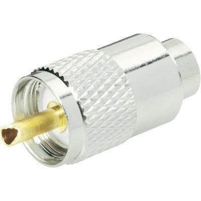 Connecteur UHF Mâle droit TRU COMPONENTS 1579278 à souder 1 pc(s)