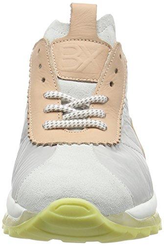 L White Bronx Baskets Brodax Mehrfarbig Basses Femme 1564 Blush Grey xPqaOwq0Yr