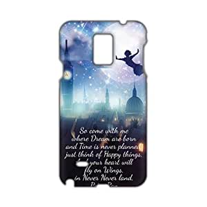 Peter Pan Tinker Bell 3D Phone For SamSung Note 2 Case Cover
