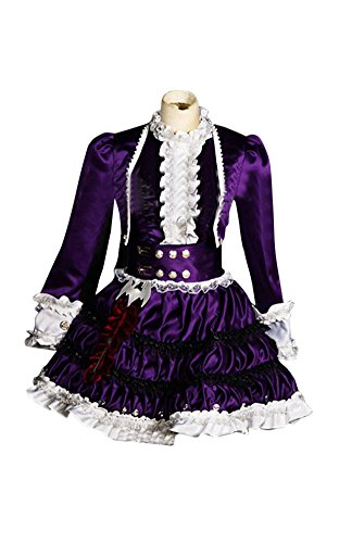 Mtxc Women's League of Legends Cosplay Costume Annie Dress Size Medium Purple